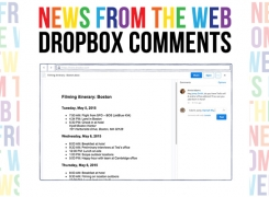 New Dropbox Feature: Add comments on files | via Dropbox Blog