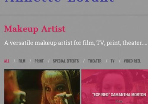 Annette Lorant – Makeup Artist